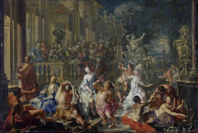 "<a class=""recordlink artists"" href=""/explore/artists/63831"" title=""Johann Georg Platzer""><span class=""text"">Johann Georg Platzer</span></a>"