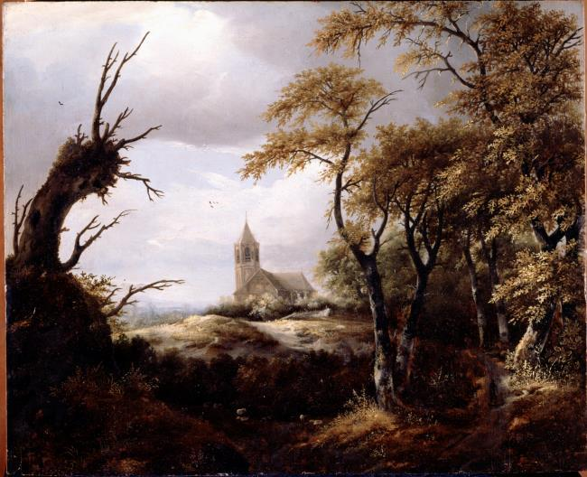 "attributed to <a class=""recordlink artists"" href=""/explore/artists/80477"" title=""Jan Vermeer van Haarlem (I)""><span class=""text"">Jan Vermeer van Haarlem (I)</span></a>"