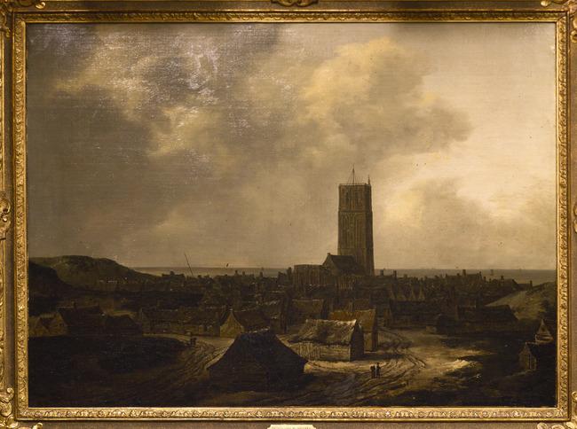 """toegeschreven aan <a class=""""recordlink artists"""" href=""""/explore/artists/68834"""" title=""""Isaack van Ruisdael""""><span class=""""text"""">Isaack van Ruisdael</span></a>"""