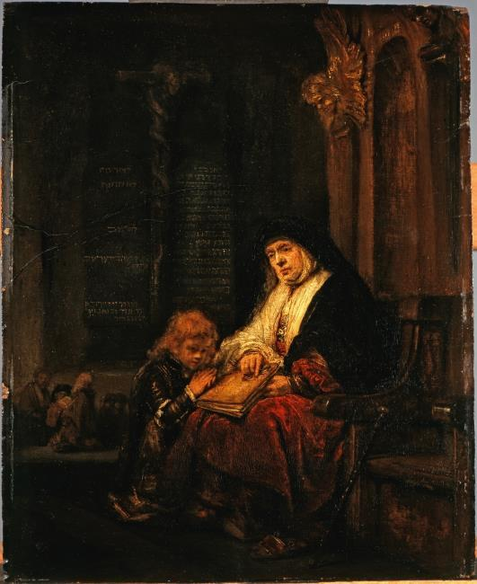 """attributed to <a class=""""recordlink artists"""" href=""""/explore/artists/66219"""" title=""""Rembrandt""""><span class=""""text"""">Rembrandt</span></a> or studio of <a class=""""recordlink artists"""" href=""""/explore/artists/66219"""" title=""""Rembrandt""""><span class=""""text"""">Rembrandt</span></a>"""