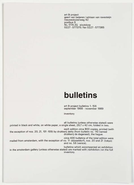 "uitgegeven door <a class=""recordlink artists"" href=""/explore/artists/438870"" title=""Art & Project""><span class=""text"">Art & Project</span></a>"