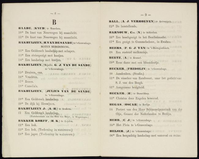 Becker, Fridolin, catalogusnummer 31, De visscher van Zandvoort, naar het gedicht van S.J. van den Bergh