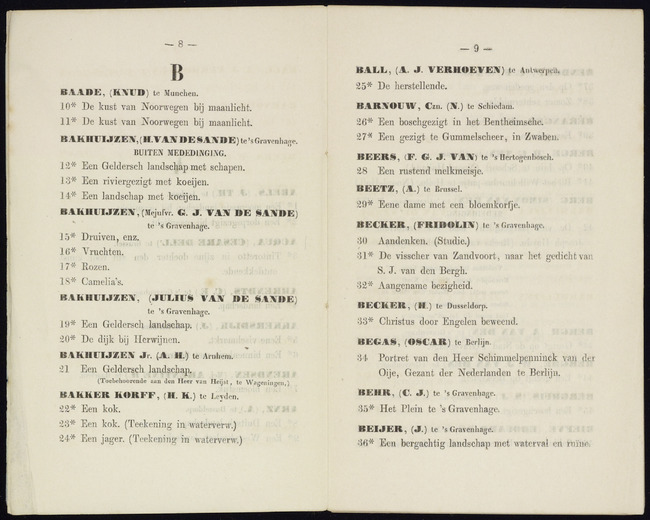Sande Bakhuyzen, Gerardina Jacoba van de, catalogusnummer 15, Druiven, enz