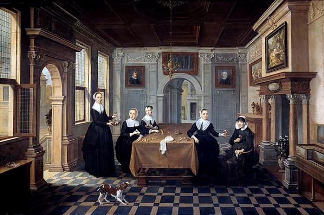 "attributed to <a class=""recordlink artists"" href=""/explore/artists/4912"" title=""Bartholomeus van Bassen""><span class=""text"">Bartholomeus van Bassen</span></a> or attributed to <a class=""recordlink artists"" href=""/explore/artists/21682"" title=""Dirck van Delen""><span class=""text"">Dirck van Delen</span></a>"