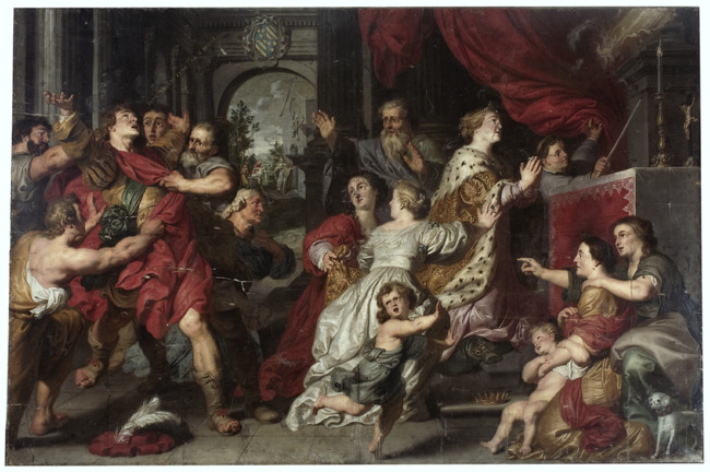 """attributed to <a class=""""recordlink artists"""" href=""""/explore/artists/61758"""" title=""""Joost de Paepe""""><span class=""""text"""">Joost de Paepe</span></a>"""