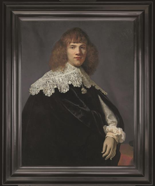 Rembrandt, Portrait of a young gentleman