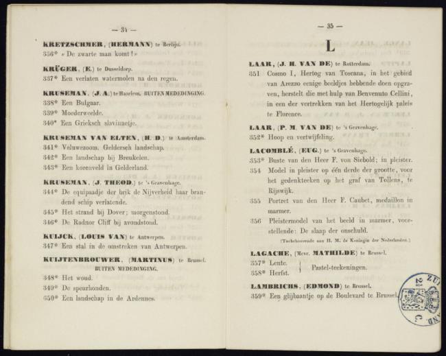 Lagache-Corr, Mathilde, catalogusnummer 357, Lente. Pastel-teekening