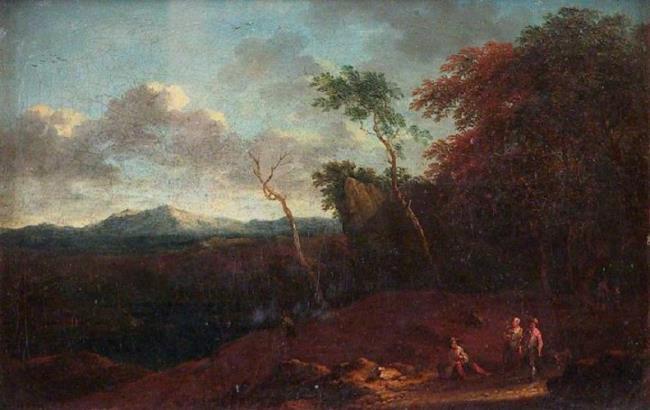 "toegeschreven aan <a class=""recordlink artists"" href=""/explore/artists/40834"" title=""Cornelis Huysmans""><span class=""text"">Cornelis Huysmans</span></a>"